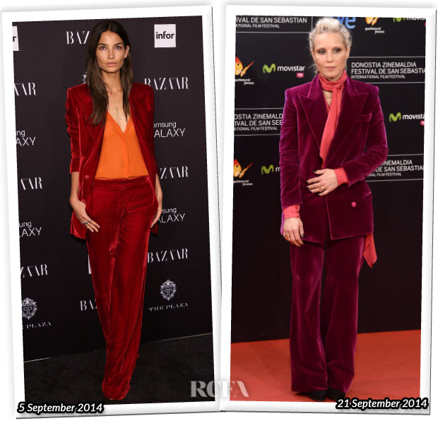 Who Wore Emilio Pucci Better Lily Aldridge or Noomi Rapace