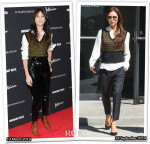 Who Wore Louis Vuitton Better...Charlotte Gainsbourg or Victoria Beckham?