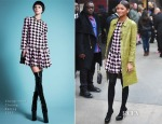 Zendaya Coleman In Cheng-Huai Chuang - Good Morning America