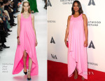 Zoe Saldana In Christian Dior - Academy of Motion Picture Arts and Sciences' Hollywood Costume Opening Party