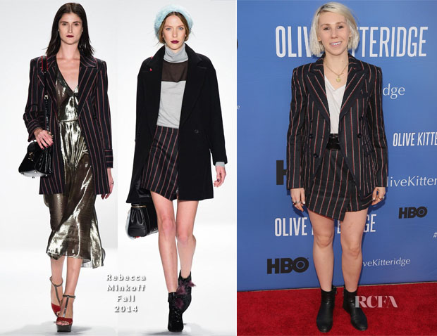 Zosia Mamet In Rebecca Minkoff - 'Olive Kitteridge' New York Premiere