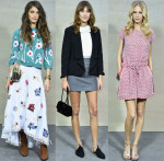 Chanel Spring 2015 Front Row