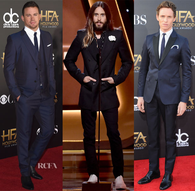 2014 Hollywood Film Awards Menswear Red Carpet Roundup