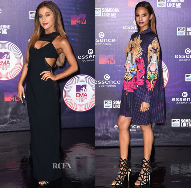2014 MTV EMAs Red Carpet Roundup