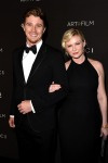 Garrett Hedlund and Kirsten Dunst in Gucci