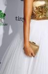 Jessica Alba's Brian Atwood clutch