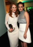 Julianne Moore in Balenciaga and Kristen Stewart in Chanel Couture