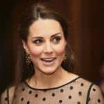 Catherine, Duchess of Cambridge in Hobbs & Jenny Packham