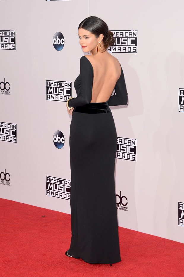 selena gomez 2014 american music awards red carpet