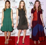 A Week In Michelle Monaghan's Closet Wearing Lanvin, Sally LaPointe & Roksanda