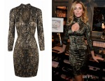 Abbey Clancy's Agent Provocateur Leoni Keyhole Dress