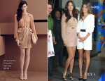 Adriana Lima In Elisabetta Franchi & Alessandra Ambrosio In Barbara Bui - Good Morning America