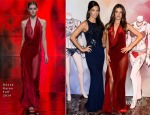 Adriana Lima and Alessandra Ambrosio Unveiled their Victoria's Secret Dream Angels Fantasy Bras