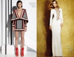 Alessandra Ambrosio In Balmain & Azzaro Couture - 2014 Latin Grammy Awards 2