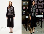 Alexa Chung In Vilshenko -  Nails Inc: The Alexa Editions Launch