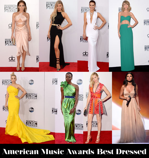 American Music Awards Best Dressed