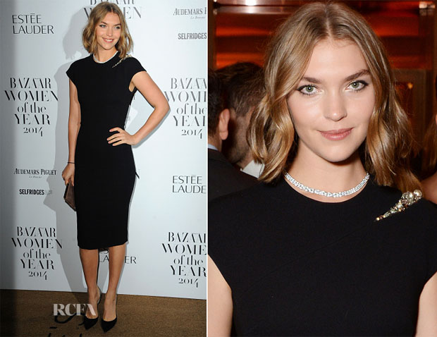 Arizona Muse In Victoria Beckham - Harper's Bazaar Women Of The Year Awards
