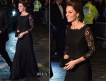 Catherine, Duchess of Cambridge In Diane von Furstenberg - Royal Variety Performance