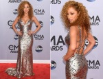 Chaley Rose In Johnathan Kayne - 2014 CMA Awards