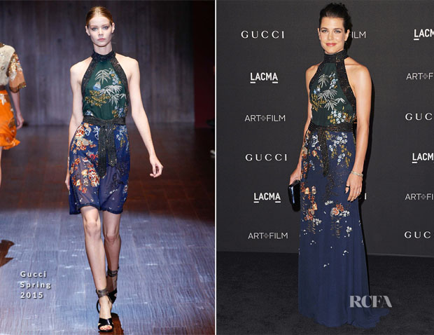 Charlotte Casiraghi In Gucci - 2014 LACMA Art + Film Gala