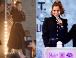 Cheryl Fernandez Versini In Alexander McQueen - Oxford Street Christmas Lights Switch On Event