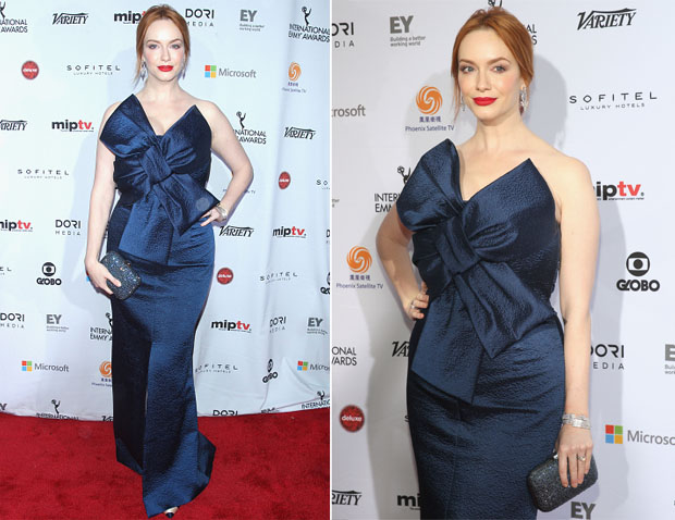 Christina Hendricks In Paule Ka - 2014 International Academy Of Television Arts & Sciences Awards