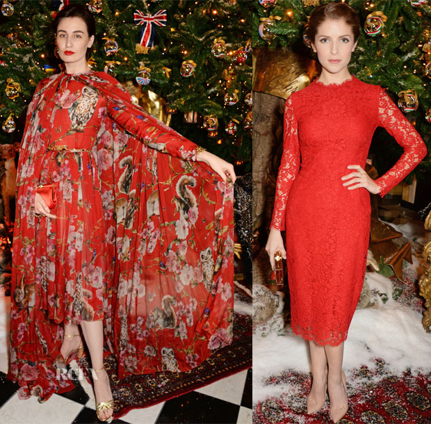 Claridge's & Dolce And Gabbana Christmas Tree Party 3