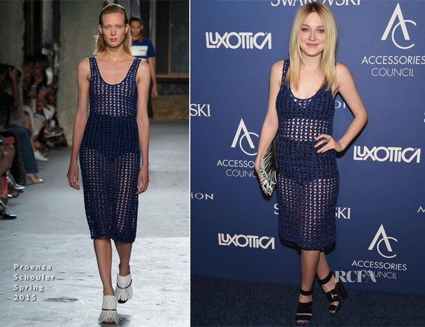 Dakota Fanning In Proenza Schouler - 18th Annual Accessories Council ACE Awards