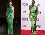 Danai Gurira In Naeem Khan - 2014 American Music Awards
