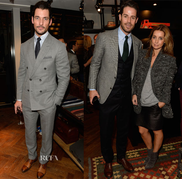 David Gandy & Jamie Redknapp In Thom Sweeney