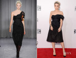 Dianna Agron In Marchesa - 2014 American Music Awards