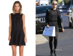 Dianna Agron's Heartloom Yuko Dress