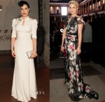 Dita von Teese, Dianna Agron, Olivia Palermo & Emily Van Camp Attend The House Of Herrera Gala
