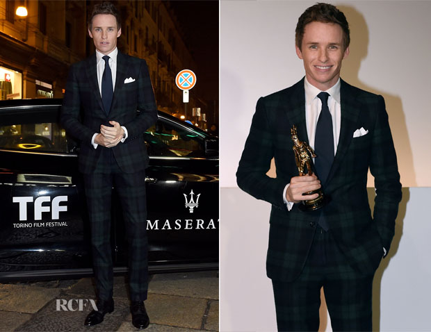 Eddie Redmayne In Ralph Lauren Purple Label - 'The Theory of Everything' Turin Film Festival