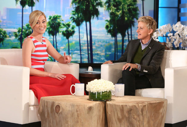 Elizabeth Banks In DKNY - The Ellen DeGeneres Show