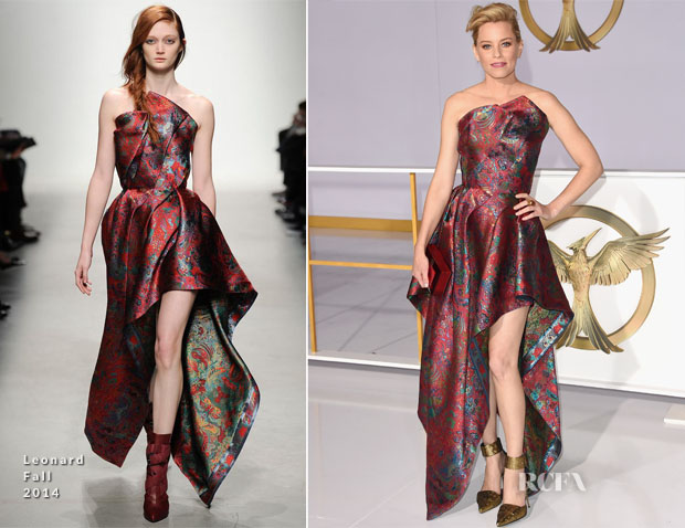 Elizabeth Banks In Leonard - 'The Hunger Games Mockingjay - Part 1' LA Premiere