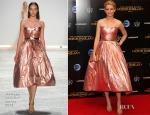 Elizabeth Banks In Monique Lhuillier - 'The Hunger Games: Mockingjay – Part 1′ After-Party