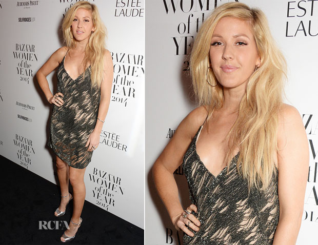 Ellie Goulding In Kaufmanfranco - Harper's Bazaar Women of the Year Awards