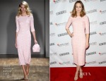 Emily Blunt In Jenny Packham - Hamilton Behind The Camera Awards