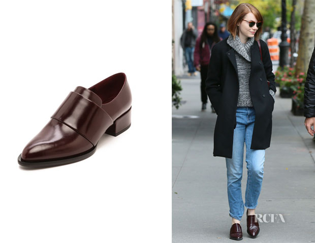 Emma Stone's Vince Yaeger Loafers