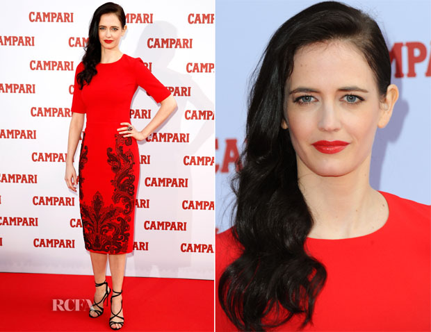 Eva Green In Andrew Gn - 2015 Campari Calendar Photocall