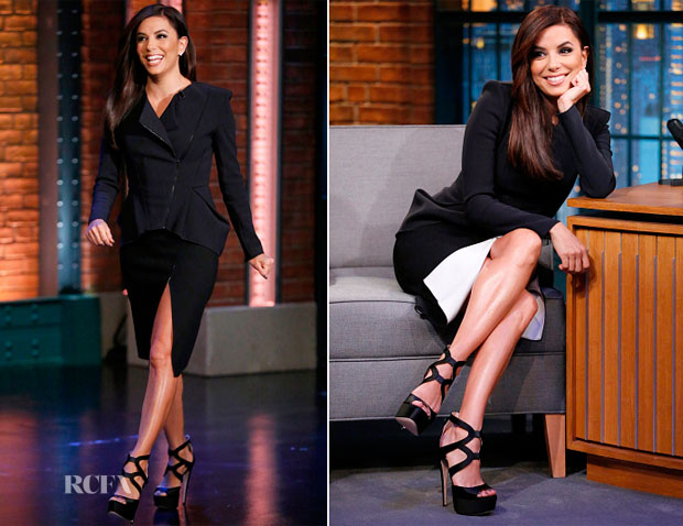 Eva Longoria In Kaufmanfranco - Late Night with Seth Meyers