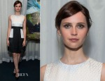 Felicity Jones In Alexander McQueen - 2014 Variety Screening Series of 'Theory Of Everything'