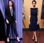 Felicity Jones In Dior, Fendi, Jonathan Saunders & J.W. Anderson - 'Theory Of Everything' New York Promo Tour