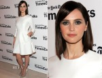 Felicity Jones In Dior - TimesTalks Presents An Evening With Eddie Redmayne And Felicty Jones