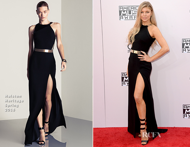 Fergie In Halston Heritage - 2014 American Music Awards