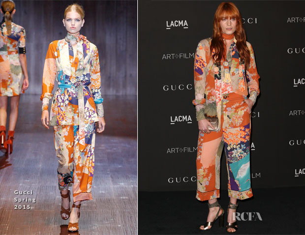 Florence Welch In Gucci - 2014 LACMA Art + Film Gala