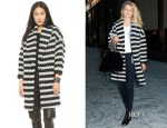 Gigi Hadid's Alice + Olivia Ralter Oversized Drop Shoulder Coat