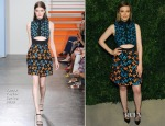 Gillian Jacobs In Tanya Taylor - CFDA/Vogue Fashion Fund Awards