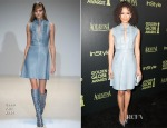 Gugu Mbatha-Raw In Gucci - The Hollywood Foreign Press Association And InStyle Celebrate The 2015 Golden Globe Award Season